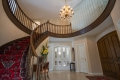 Real Estate -  3270 Barlow Crescent, Ottawa, Ontario - Grand Foyer with 18 ft ceilings, marble floors, solid oak staircase to 2nd level balcony.